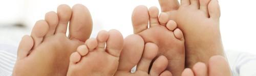 Cuidados com os pés e tratamento