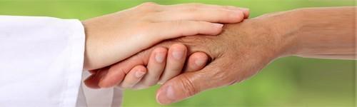 Mână de îngrijire & tratament